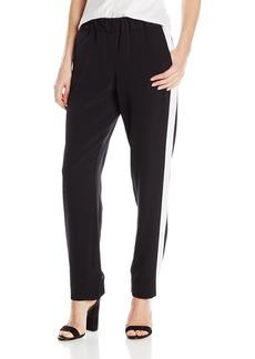 Jones New York Women's Tux Stripe Pull on Pant