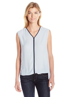 Jones New York Women's V Front Blouse