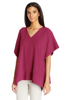 Jones New York Women's V NK Square Top  XS