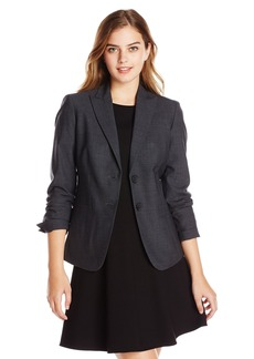Jones New York Women's Washable Wool Button Front Jacket