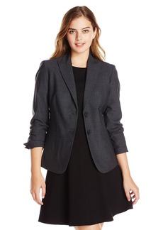 Jones New York Women's Washable Wool Button Front Jacket