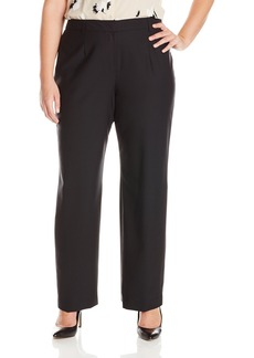 Jones New York Women's Washable Wool Flat Front Pant