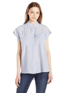 Jones New York Women's YD Oversized Shirt  L