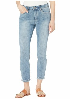 Jones New York Lexington Straight Crop Jeans in Kurt Love Wash