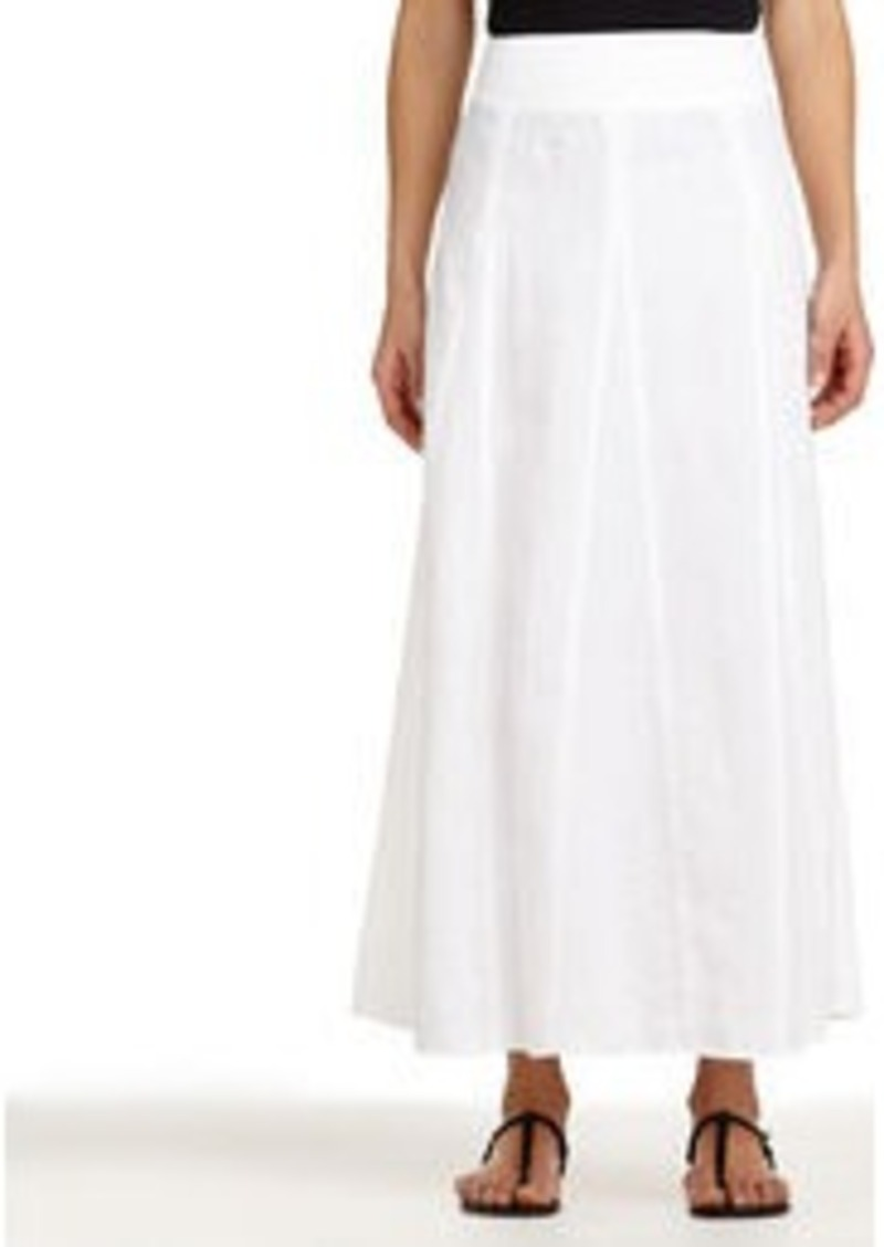Jones New York Linen Maxi Skirt