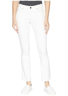 Jones New York Madison Slim Ankle Cool-Max Jeans in Soft White