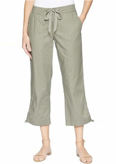 Jones New York Patch Pocket w/ Outseam Hem Detail Pants