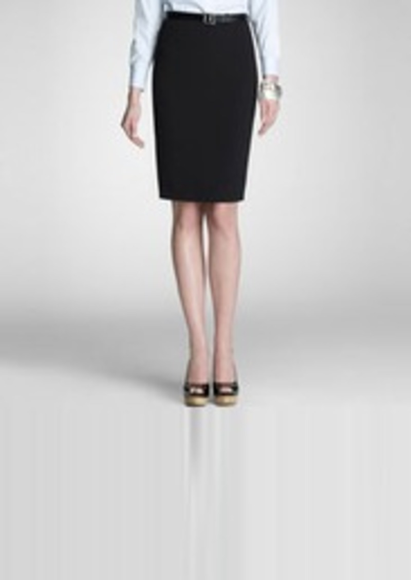 Jones New York Platinum Pencil Skirt (Petite)