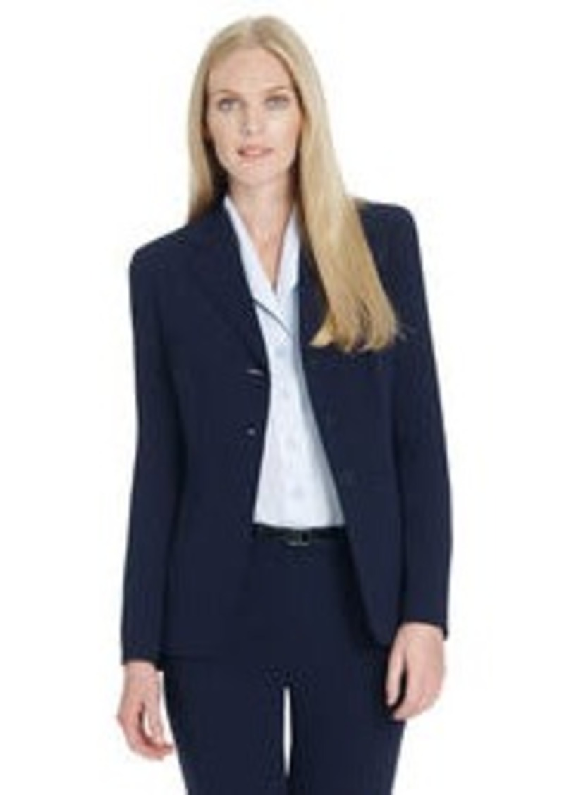 Jones New York Platinum Three Button Jacket (Petite)