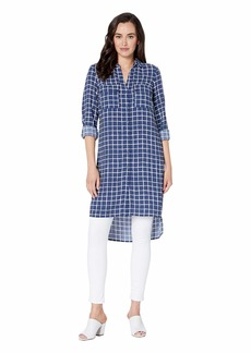 Jones New York Roll Tab Tunic