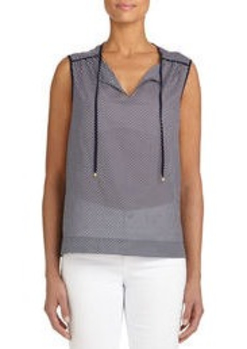Jones New York Sleeveless Cotton Tunic (Petite)