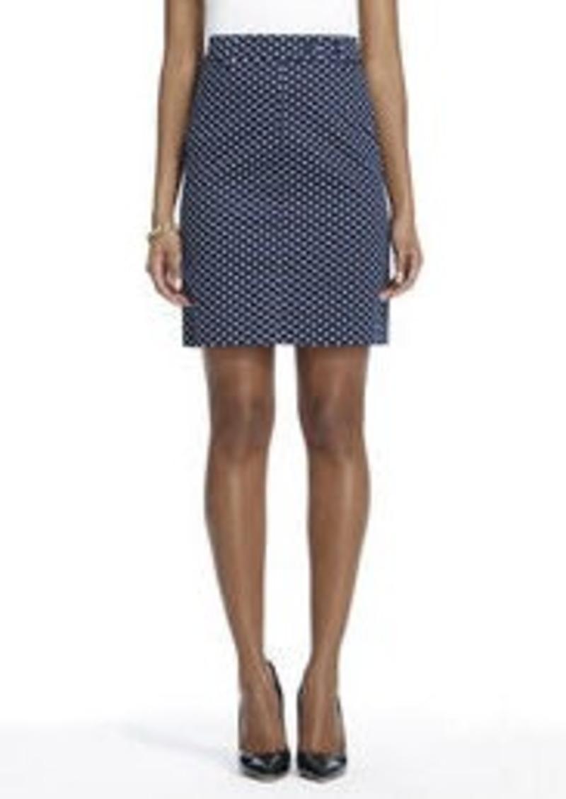 Jones New York Slim Skirt with Front Pockets