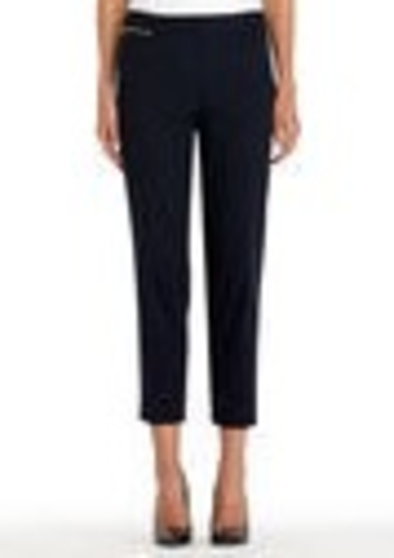 Jones New York Stretch Cotton Cropped Pants