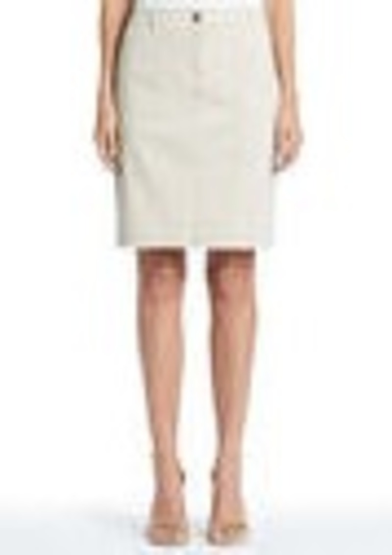 Jones New York Stretch Cotton Utility Skirt
