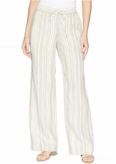 Jones New York Stripe Linen Easy Pants