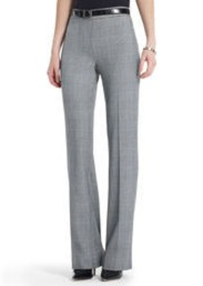 Jones New York The Sloane Pant in Glen Plaid (Petite)