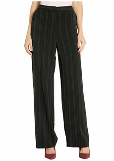 Jones New York Wide Leg Pinstripe Pants