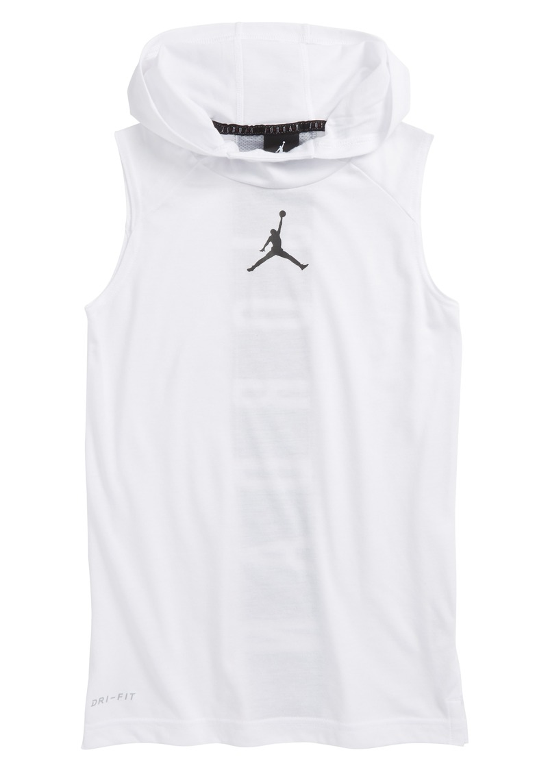 4cc7ca39315ab Jordan Jordan 23 Alpha Dry Fitted Sleeveless Hoodie (Big Boys) Now ...