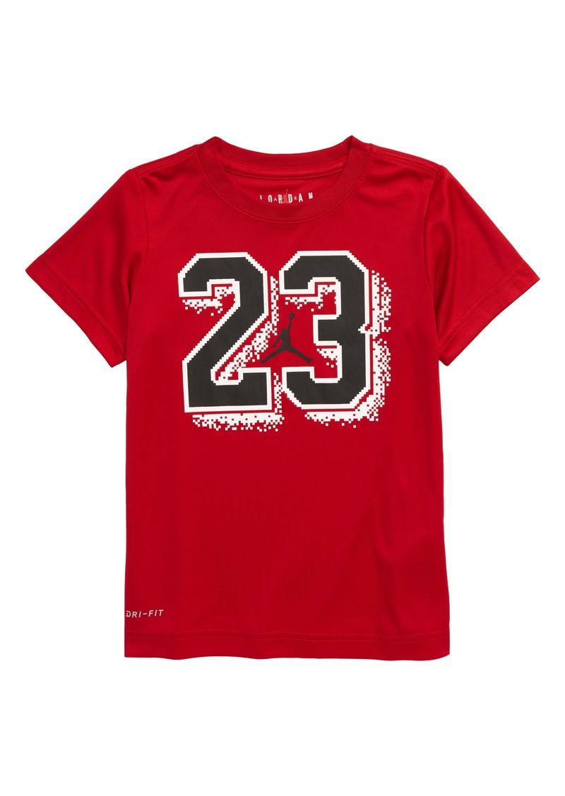 Jordan 23 Pixel Graphic Dri-FIT T-Shirt (Little Boys)