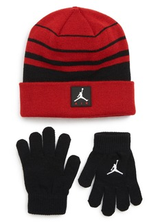 Jordan Air Beanie & Gloves Set (Big Boys)