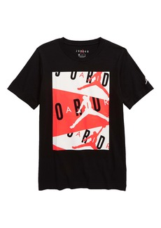 Jordan Air Graphic Cotton Tee (Big Boy)