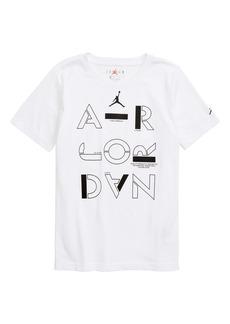 Jordan Air Jordan Stencil Graphic T-Shirt (Big Boys)