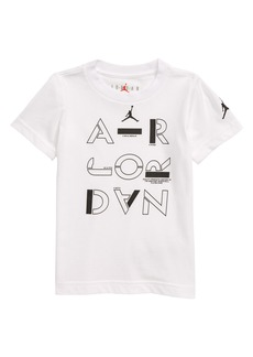 Jordan AJ Stencil Graphic Logo T-Shirt (Toddler Boys)
