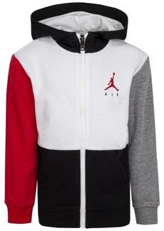 Jordan Big Boys Jumpman Air Full-Zip Sweatshirt
