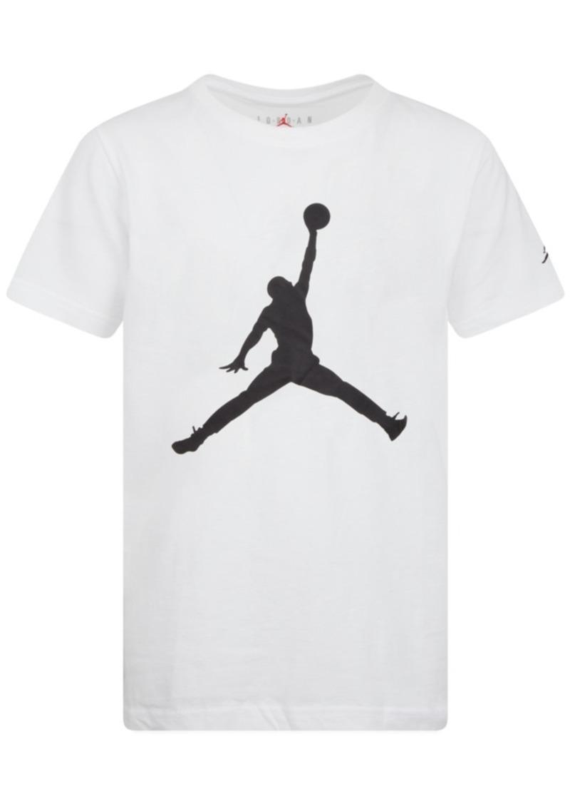 Jordan Big Boys Jumpman-Print Cotton T-Shirt