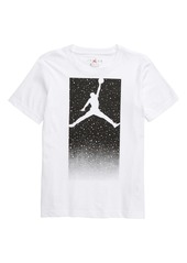 Jordan Box Speckle Fade Graphic T-Shirt (Big Boys)