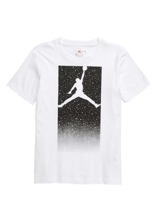 Jordan Box Speckle Fade Graphic T-Shirt (Big Boys)