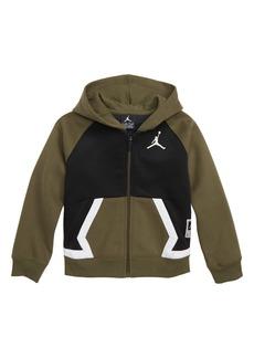 Jordan Diamond Fleece Sweatshirt Jacket (Big Boys)