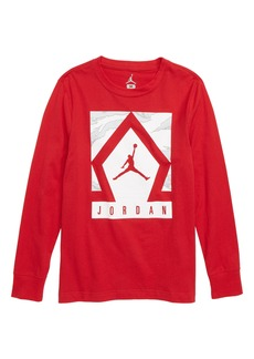 Jordan Diamond Jumpman Long Sleeve T-Shirt (Big Boys)