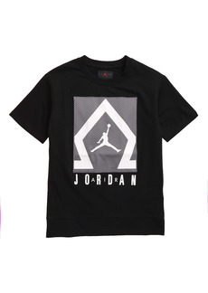 Jordan Diamond Shooter Patch T-Shirt (Big Boys)
