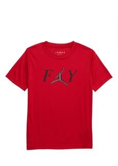 Jordan Dri-FIT Fly Crew Graphic T-Shirt (Toddler Boys)