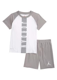 Jordan Dri-FIT Graphic Tee & Athletic Shorts Set (Toddler & Little Boy)