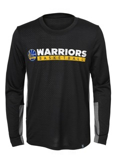 Jordan Golden State Warriors Covert Long Sleeve T-Shirt, Little Boys (4-7)