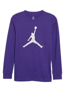 Jordan Jumpman Speckle Cotton T-Shirt (Big Boys)