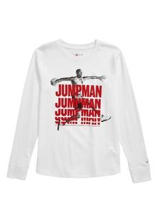 Jordan Jumpman Stack Graphic T-Shirt (Big Boys)