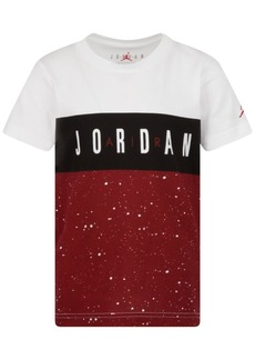 Jordan Toddler Boys Colorblocked Logo-Print Cotton T-Shirt