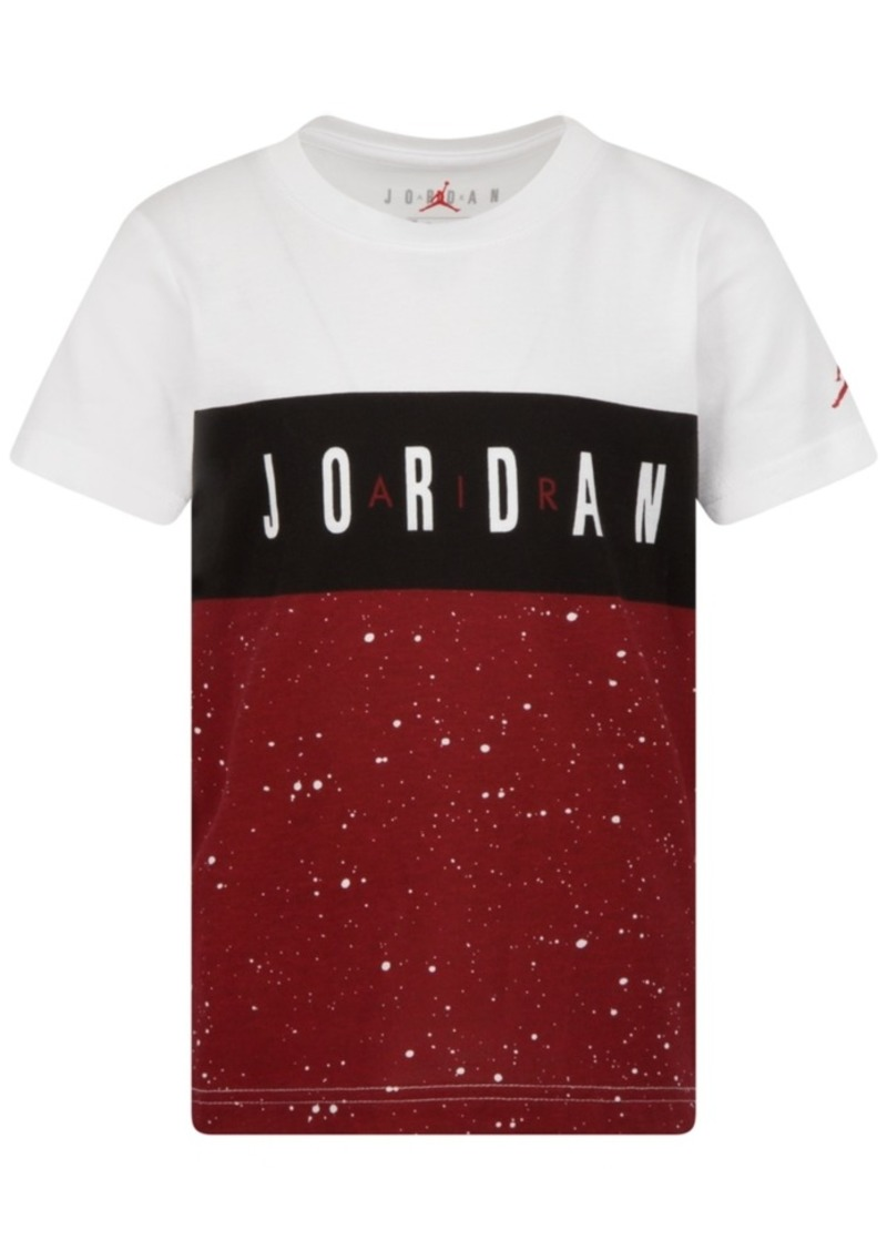 Jordan Little Boys Cotton Colorblocked T-Shirt