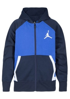 Jordan Little Boys Diamond Fleece Full-Zip Hoodie