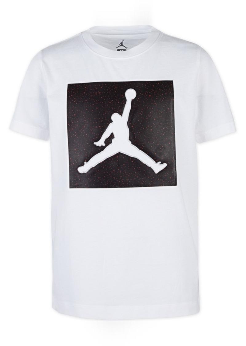 Jordan Toddler Boys Jumpman-Print Cotton T-Shirt
