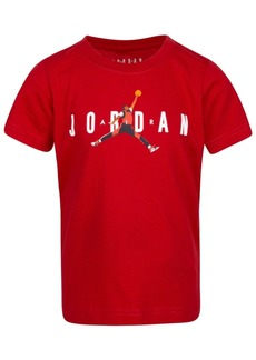 Jordan Toddler Boys Jumpman-Print Cotton T-Shirt