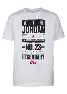 Jordan Little Boys Legendary-Print Cotton T-Shirt