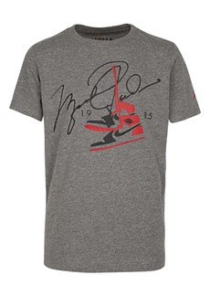 Jordan Little Boys Signature-Print T-Shirt
