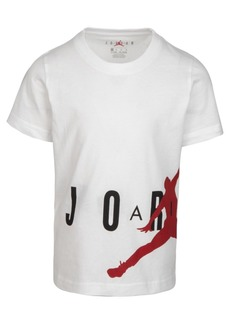 Jordan Little Boys Wrap-Around Jumpman-Print Cotton T-Shirt