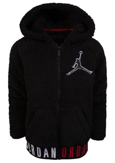 Jordan Little Boys Zip-Up Logo Hoodie