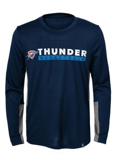 Jordan Oklahoma City Thunder Covert Long Sleeve T-Shirt, Little Boys (4-7)