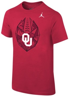 Jordan Oklahoma Sooners Icon T-Shirt, Big Boys (8-20)